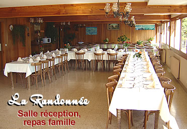 Salle repas de famille sallanches for Entree repas famille